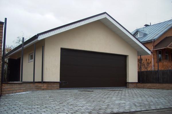 Постройки гаража фото