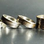 Красивое кольцо из монеты